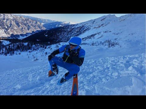 So schnell reißt dich eine Lawine mit - Lawinenabgang | Alpine Momente #Shorts
