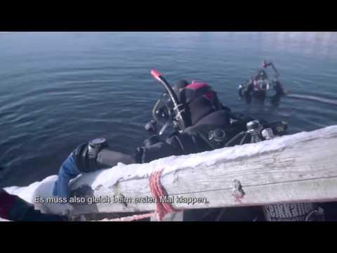 Magie der Polarnacht Abschnitt 17 In die eisige Tiefe – Tauchen unter dem Eis