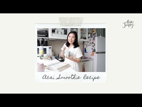 Aarks' Journey - Ep.4 Acai Smoothie Recipe