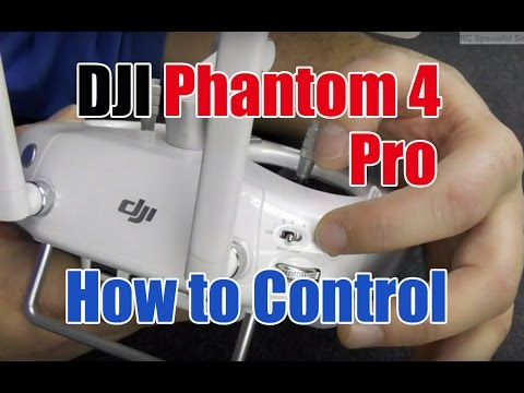 How to Use the DJI Phantom 4, Pro 4, Plus Controller.