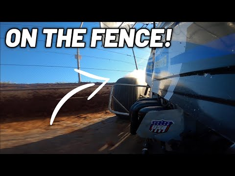 Tanner Holmes 410 Sprint Car Qualifying At Sharon Speedway! (Right Rear Cam) - dirt track racing video image