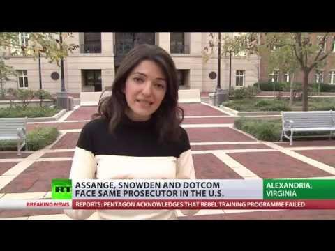 Edward Snowden, Julian Assange assigned to same US prosecutor
