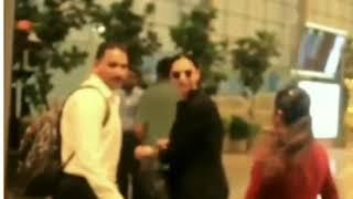 दीपिका पादुकोण ko pucha ID प्रूफ Deepika Padukone stopped by Airport Security for ID Proof