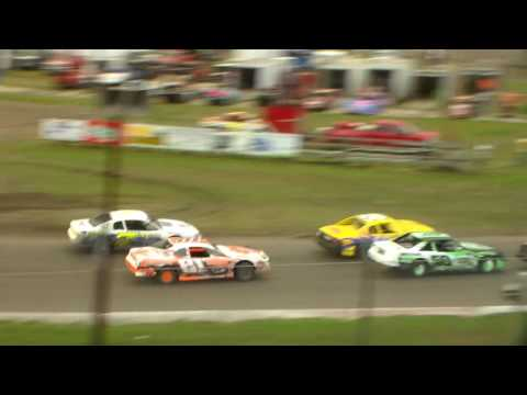 Stock Car Amain - dirt track racing video image