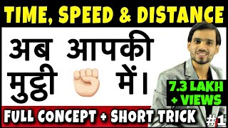 Time Speed and Distance Trick | Time Speed Distance Concept/Problems/Solutions/Tricks/Questions