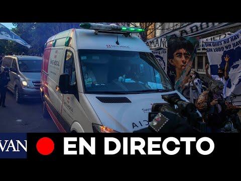 DIRECTO: Maradona llega al hospital de Olivos para ser operado de un hematoma subdural