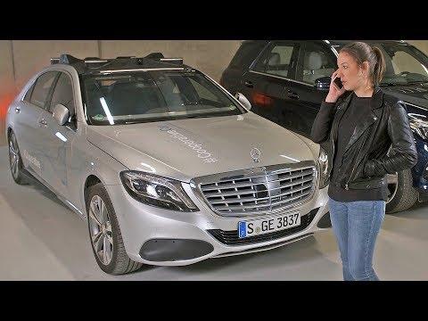 Experimental Mercedes S-Class ? Cooperative Car