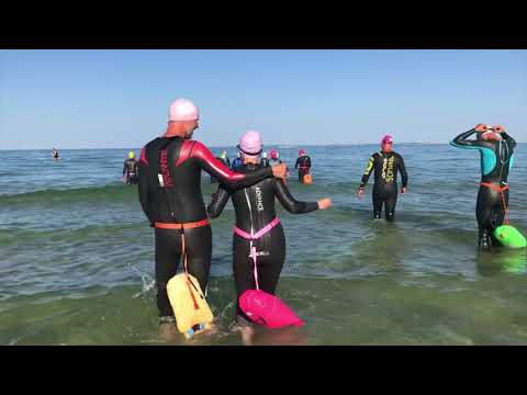 Open Water-svømning på Odderkysten