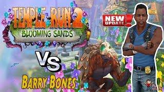 Temple Run 2 | Blooming Sands | Barry Bones Runner First Look Gameplay Walkthrough