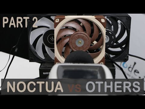 Noctua A12x25 vs Others - Part 2 - Undervolting