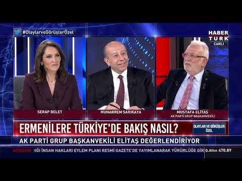 Mustafa Elitaş Habertürk TV'de soruları yanıtlıyor… #YAYINDA