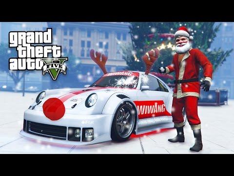 GTA 5 CHRISTMAS DLC UPDATE - SNOW, SNOWBALL FIGHTS & NEW PFISTER COMET RETRO CUSTOM!! (GTA 5 DLC) - UC2wKfjlioOCLP4xQMOWNcgg