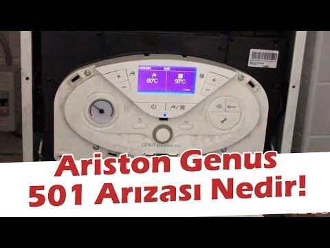 Ariston genus 501 hatası nedir 501 arıza kodu nedir kombi de alev eksikliği ve ateşleme sorunu