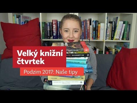 Podzimní Velký knižní čtvrtek 2017: Naše tipy - Soukupová, Viewegh, Ferrante...