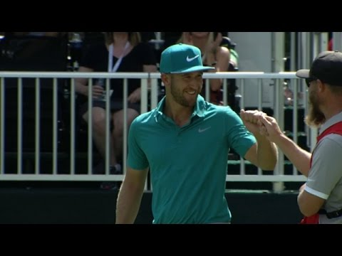 Kevin Chappell's long-range birdie putt at the TOUR Championship