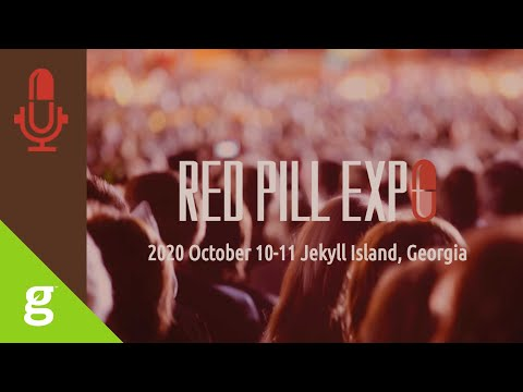 Join me at the Red Pill Expo (attend or live stream)
