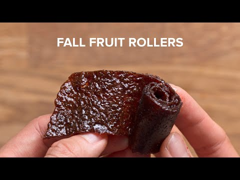 Fall Flavored Fruit Rollers