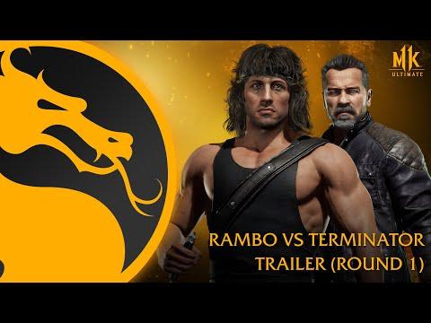Mortal Kombat 11 Ultimate   Rambo vs Terminator - Tráiler Oficial de Gameplay