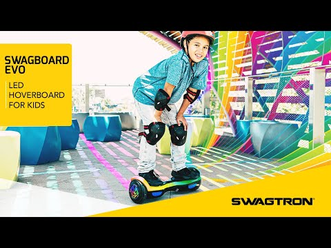 LIGHT IT UP - Swagtron EVO LED Hoverboard for Kids
