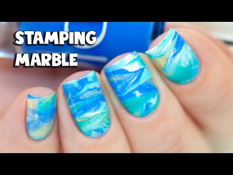 Watermarble Without Water - Dry Stamping Marble