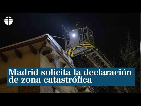 Madrid solicita la declaración de zona catastrófica y cifra los daños en 1.398 millones de euros