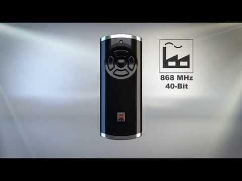 Hörmann installationsguide: Omställning av Series 3BS (BiSecur) till Series 2 (868 MHz)