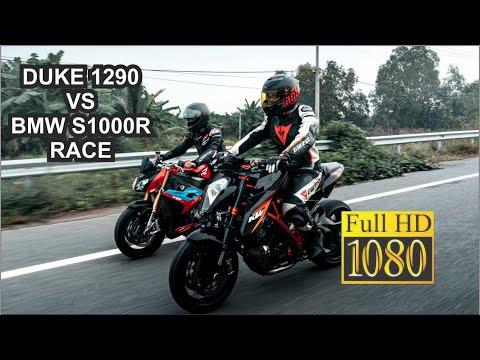KTM DUKE 1290 VS BMW S1000R RACE | DD Media