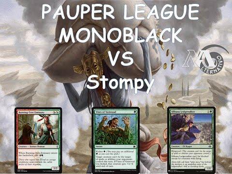 Pauper League R2 Mbc Vs Stompy