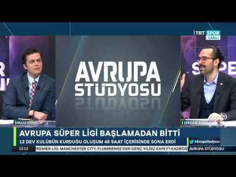 Erbatur Ergenekon ve Serkan Akkoyun ile Avrupa Stüdyosu – Avrupa Süper Ligi