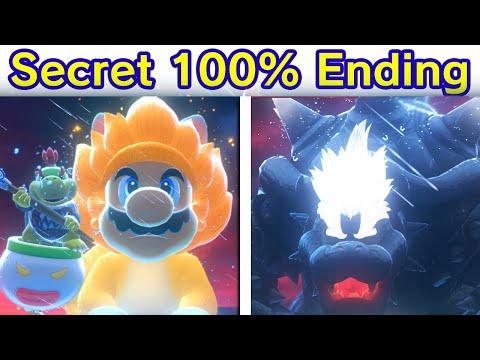 Bowser s Fury   Final Boss & Secret Ending (100%) [4K HD] Super Mario Vs. Ultimate Fury Bowser