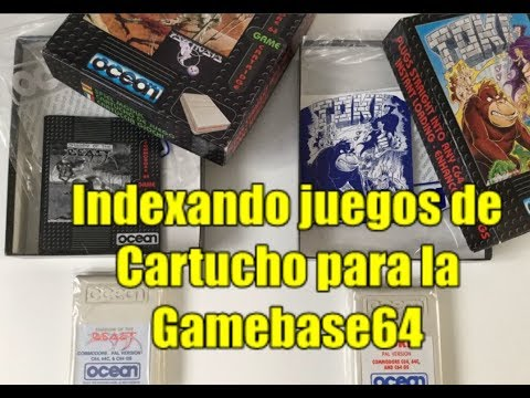 Commodore 64 Real 50Hz: Indexando Juegos en Cartucho para la Gamebase64 (IV)
