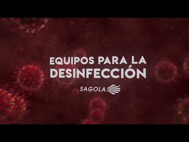 Equipos Sagola para la desinfección