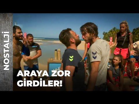ERDİ OGEDAY'IN ÜZERİNE YÜRÜDÜ! | SURVİVOR NOSTALJİ