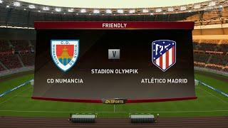 Numancia vs Atlético Madrid||Club Friendly Match||HD Gameplay||Fifa19||Highlights||