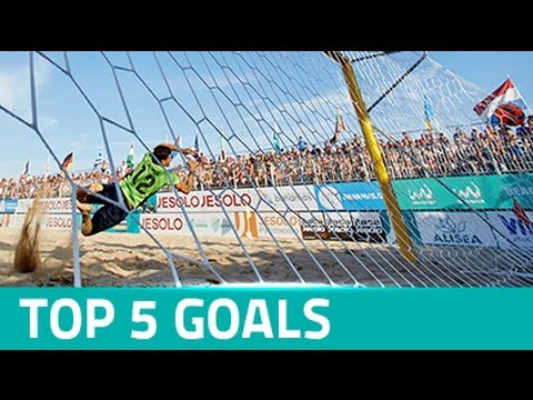 TOP 5 GOALS - FIFA Beach Soccer World Cup Qualifier Europe Jesolo 2016