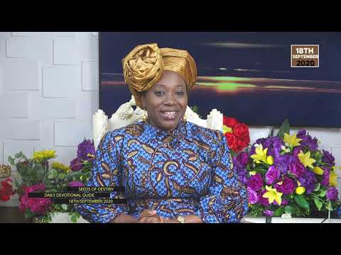 Dr Becky Paul-Enenche - SEEDS OF DESTINY - FRIDAY SEPTEMBER 18, 2020