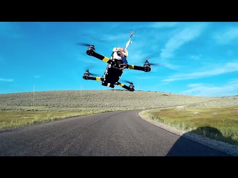 FPV Drone Racing from Moving Car - UCq2rNse2XX4Rjzmldv9GqrQ