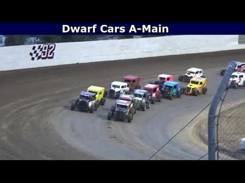 Grays Harbor Raceway, August 20, 2021, Dwarf Cars A-Main - dirt track racing video image