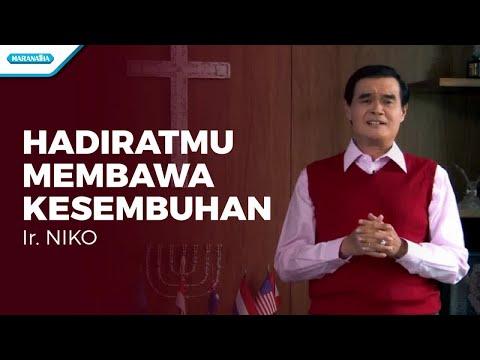 HadiratMu Membawa Kesembuhan - Ir. Niko (with lyrics)