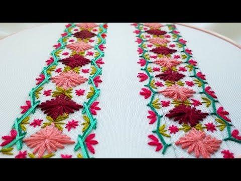 Embroidery |Decorative Stitches | Декоративные стежки | Puntadas Decorativas