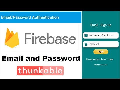 Email Authentication | AIA File| Firebase Tutorial