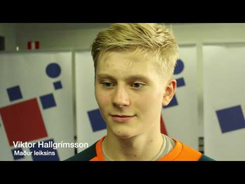 U18 EM Ísland   Tékkland