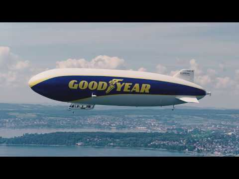 The Goodyear Blimp is back in Europe!