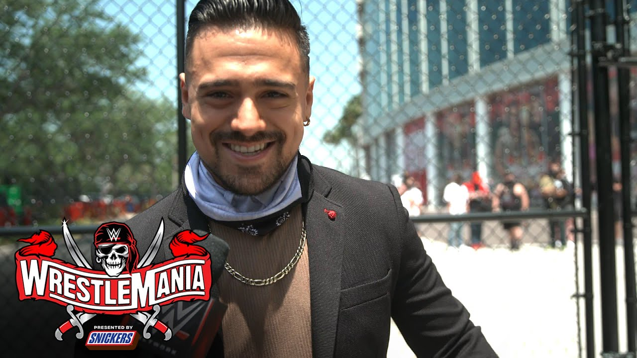 Garza thinks return of fans will raise the adrenaline level: WrestleMania 37 Exclusive, Apr 10, 2021