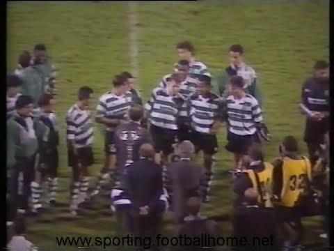 Sporting - 1 x Benfica - 0 de 1991/1992 Final Taça de Honra AFL