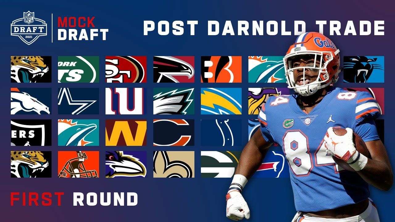 1st Round Mock Draft Post Darnold Trade!