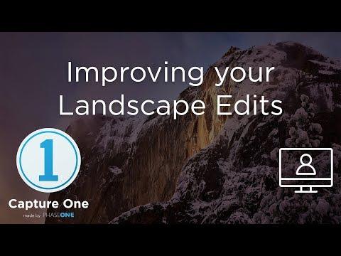 Improving your Landscape Edits | Webinar | Capture One 12