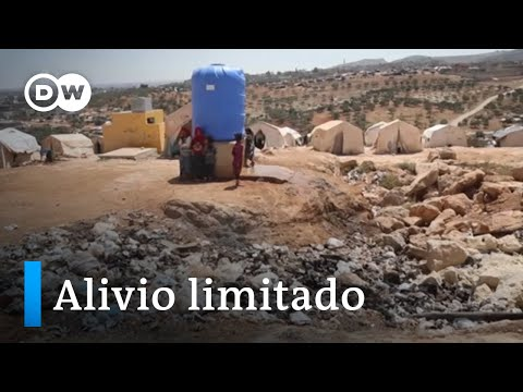 Se reactiva la ayuda a Siria