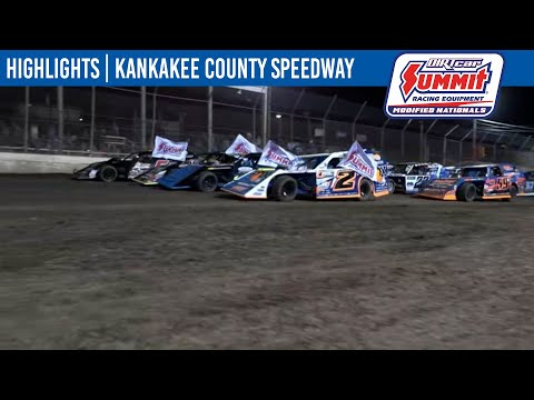 DIRTcar Summit Modifieds Kankakee County Speedway June 17, 2021   HIGHLIGHTS - dirt track racing video image