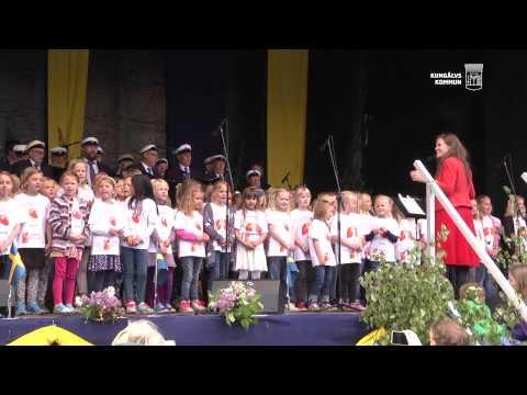 Kungälv - Årets Nationaldagsfirande bjöd på sol